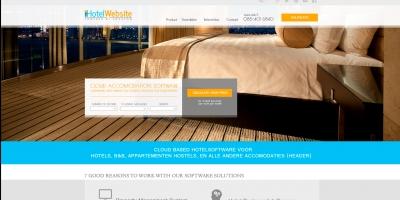 Уеб сайт за софтуер за хотели