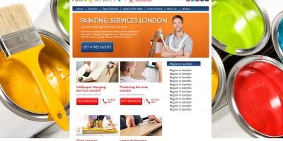 Уеб сайт за бояджийски услуги в Лондон