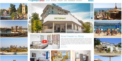 """Уеб сайт на хотел """"Нанев"""""""
