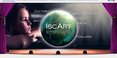 Уеб сайт на частно училище в Швейцария