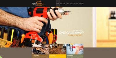 Изработка на фирмен уеб сайт за услуги