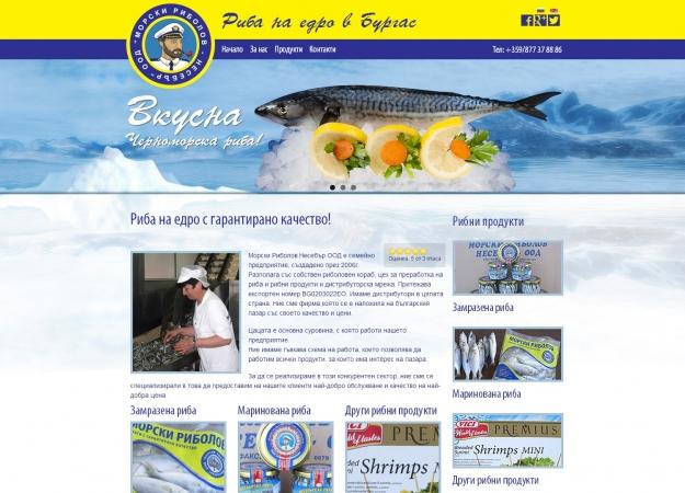 Морски риболов Несебър